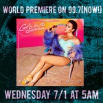 ???? ATTENTION ???? #WorldPremiere tomorrow at 5AM PST of @ddlovato new song #CoolForTheSummer! Hear it all day as well! ???? http://t.co/clNGKpiktr