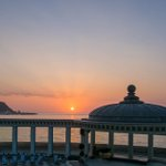#Sunrise at The Spa sun court this morning (1.7.15) – #Scarborough @Scarborough_UK @SpaOrchestra #YorkshireCoast http://t.co/eYkO0w2m0I