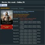 #Baahubali Dallas and Houston schedules via @CineGalaxyUSA http://t.co/YhwGIDIxB0