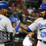 RECAP: Howie Kendrick goes 4-for-5 in #Dodgers extra-inning victory over D-backs, 6-4. {http://t.co/EoHZiebJqm} http://t.co/ETng5ZLh7M