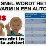 #hitte #warm #zomer #auto #parkeren #politie #dierenpolitie #dierenambulance #hond #hittegolf #heet RT=fijn http://t.co/RXkirOFY7f