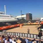 Aboutaleb @OoRotterdam : Rotterdam heeft alle WK steden verslagen, dit is fantastische locatie @de_rotterdam #WKBeach http://t.co/JqT7REGjVk