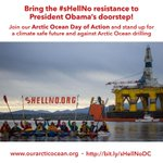 Shell No - Arctic Ocean Day of Action