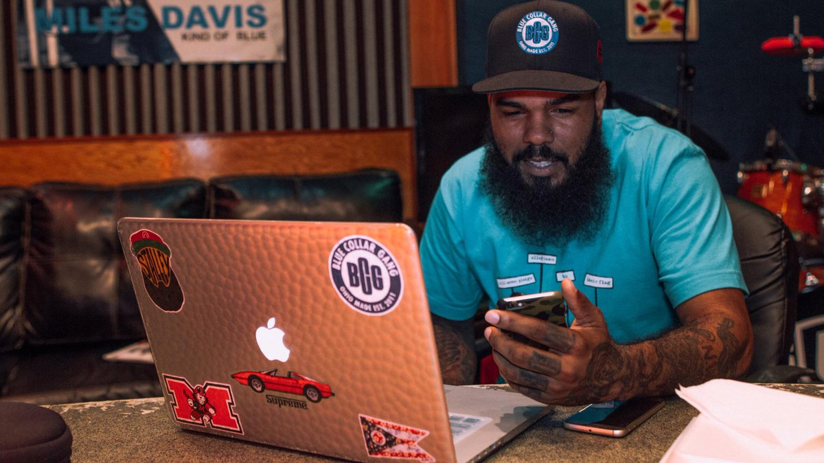 NEW POST: Studio Life: @Stalley announces new EP. Talks social media, family and artistry- http://t.co/fTaw6DDzur http://t.co/f0dNbaLqxk