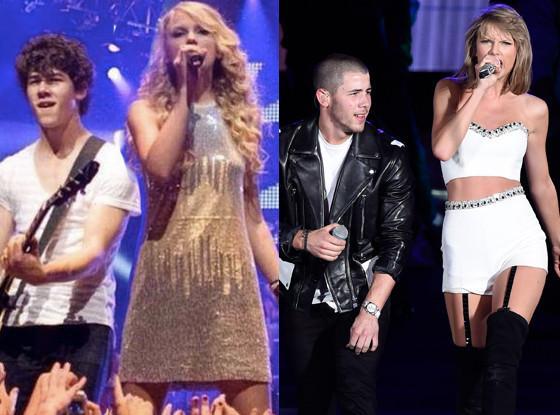 Feeling nostalgic? Nick Jonas was Taylor Swift's surprise guest Saturday night: