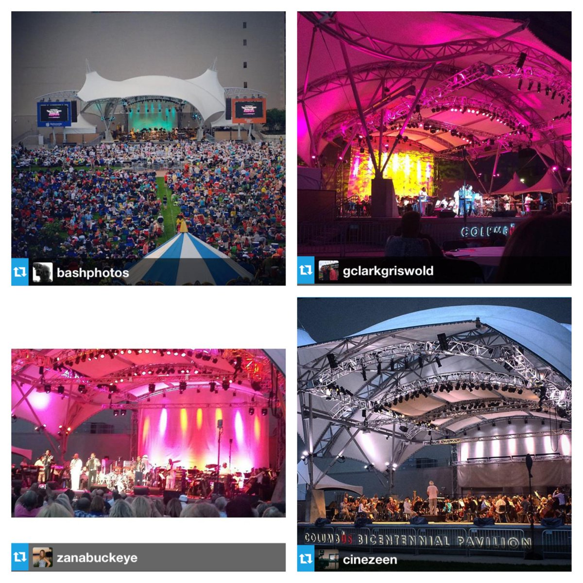 Saturday was the perfect night for a concert under the stars. Just a few crowd photos from the awesome evening! http://t.co/0wQ20MIvZ8