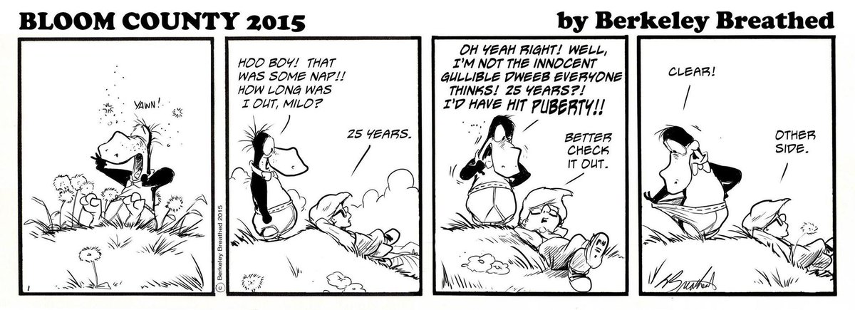 Agreed. A most welcome return! RT @neilhimself: BLOOM COUNTY 2015? Be still my happy heart! https://t.co/Ol2cqiH5BV http://t.co/tG7IDZf7rw
