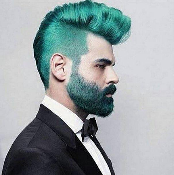These Real Men Who Rock Rainbow Hair Will Inspire You To Become A