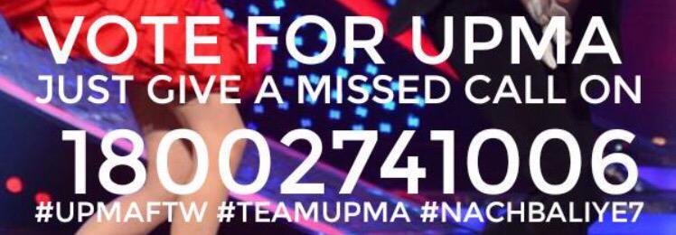 Guys do vote for my friends @upenpatelworld and @karishma_tanna #NachBaliye7 #Teamupma http://t.co/hlUpFABIVq