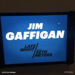 Tonight I'm on @latenightseth talking about @gaffiganshow and me deep love for you and social media. http://t.co/03uo3bdISI