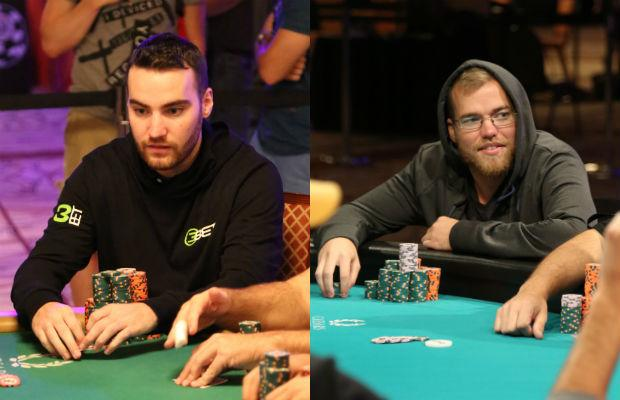 Roommates Chad Power (@Chad_Power) and Chris Brand (@chr1s_Brand) Sharing Main Event Success http://t.co/YCEcDYiK3O http://t.co/vKuYsse8FA