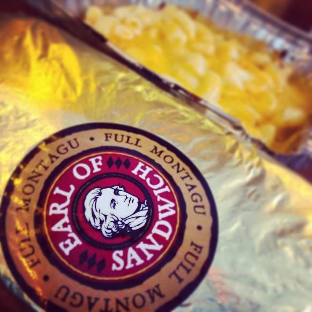 Earl of Sandwich is not the answer. Earl of Sandwich is the question. Yes is the answer. http://t.co/JACytus55R