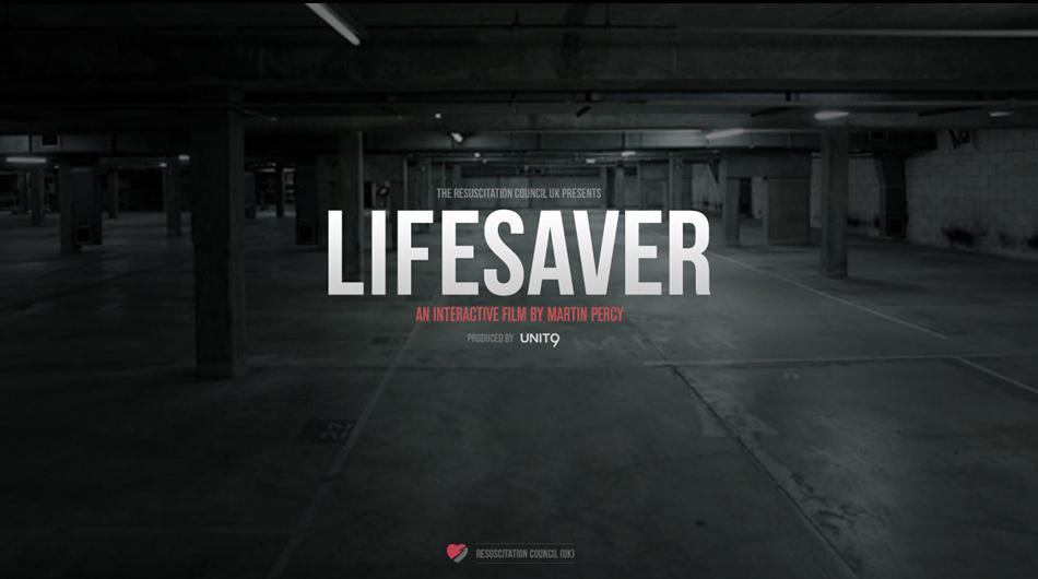 Our interactive film #LifeSaver might have just saved a life! @MartinPercy http://t.co/1Ci38gEyiF http://t.co/tTOAyWJAvN