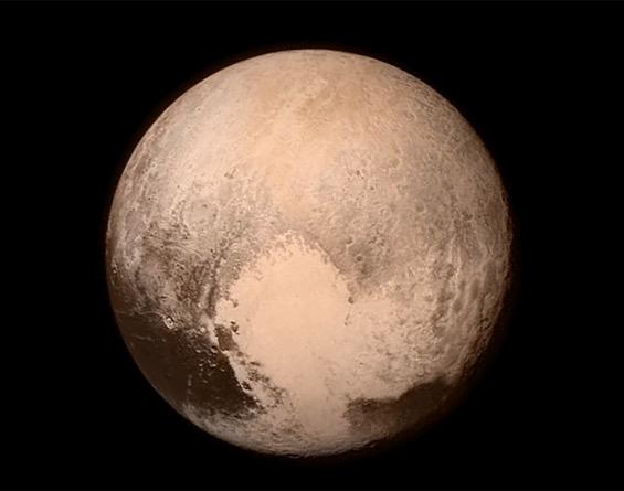 .@NASA's latest image of Pluto is absolutely stunning. #NewHorizons #PlutoFlyBy http://t.co/dM5orrkZGD