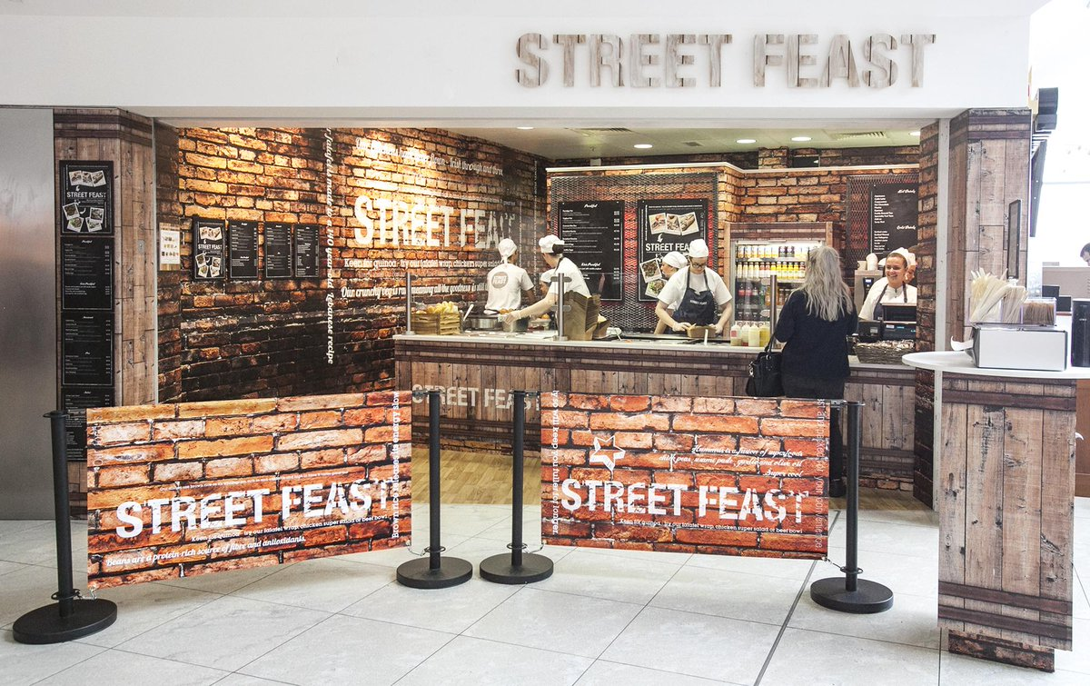 Street Feast, a new food & beverage offering opens after security in Terminal 1 @DublinAirport