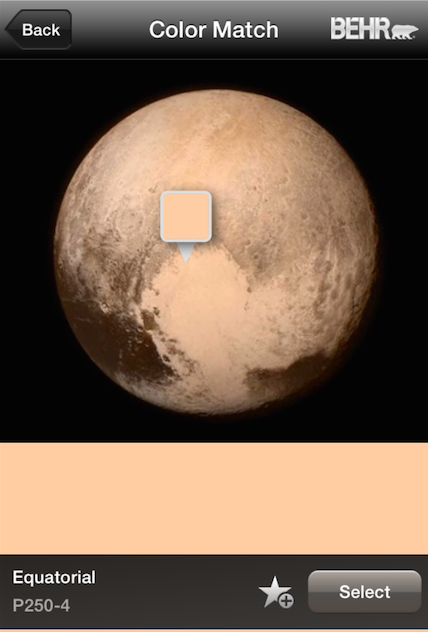 .@NASA thanks for the first full color photo of #PlutoFlyBy! It looks like Equatorial P250-4. http://t.co/3jOyXboKgd http://t.co/Aw2Br4LKu5