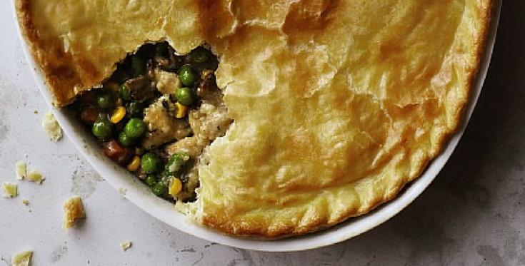 Chicken pot pie doesn't have to be a calorie bomb to taste like one. Here's how to rehab it: http://t.co/BgowNBb5jT http://t.co/r60iCCs6hN