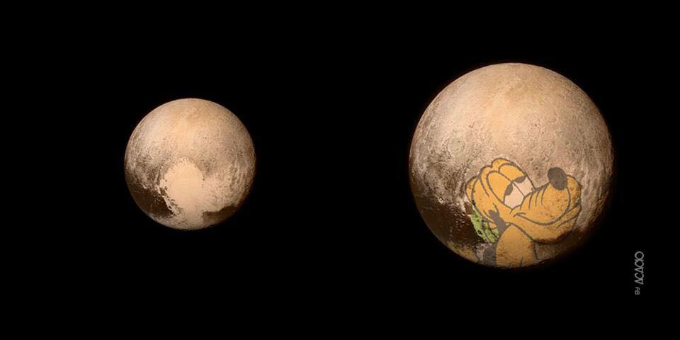 Well…my coworkers have good eyes #Space  #Pluto http://t.co/Jtvg4tCGwo