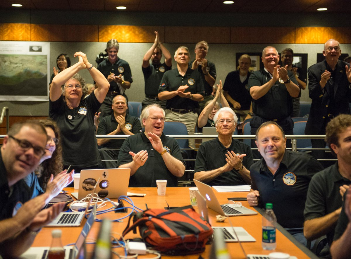 MacBook Pro: When it absolutely, positively, has to be there on time, 3 billion miles away. #PlutoFlyby