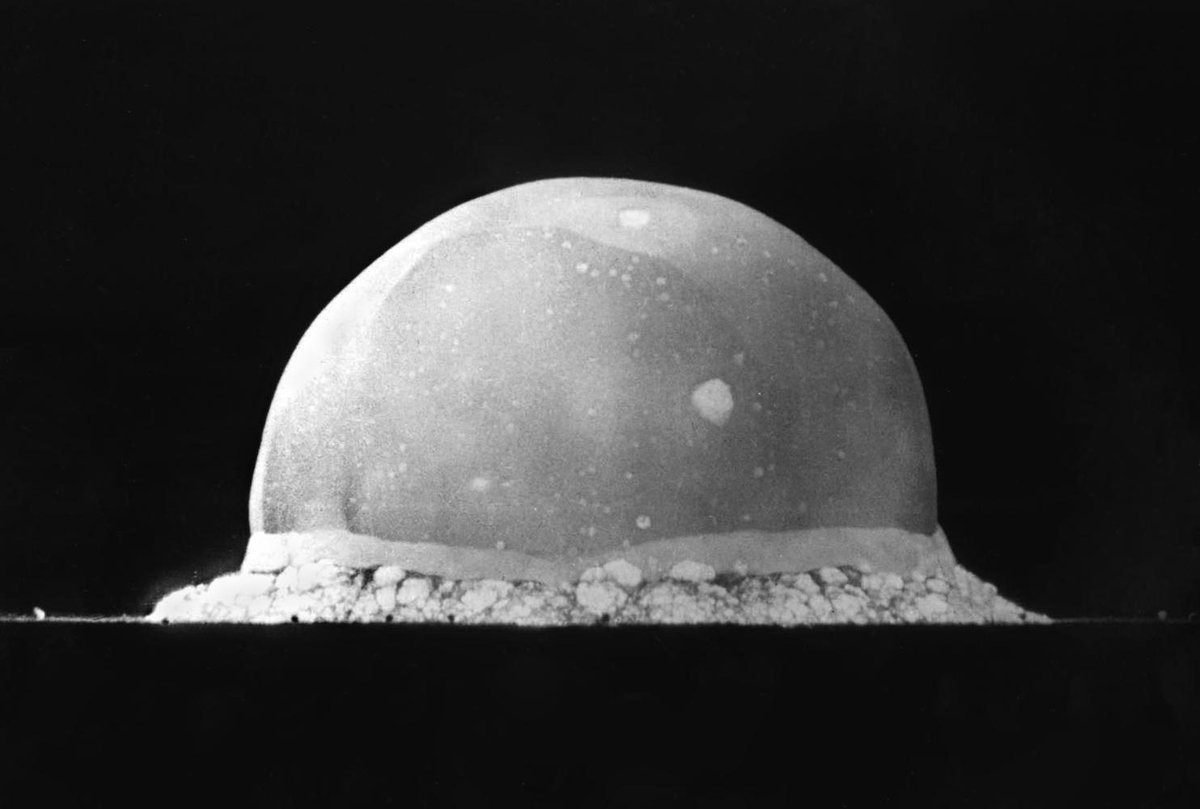#OnThisDay in 1945 the United States detonates the first atomic bomb. #coldwarhist http://t.co/OUlVaXIKeu