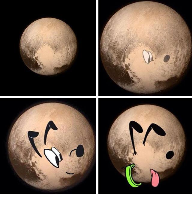 Pluto. #plutoflyby http://t.co/PpXeJgNZX9