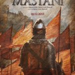 Teaser poster of #BajiraoMastani. Releases 18 Dec 2015. http://t.co/ujVh4o72Yd