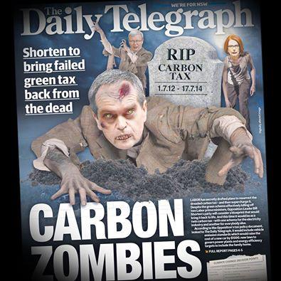 Bill Shorten's secret plan to bring back the carbon tax exposed. He really is just a carbon copy of Rudd & Gillard. http://t.co/Uu4wRHFzy3