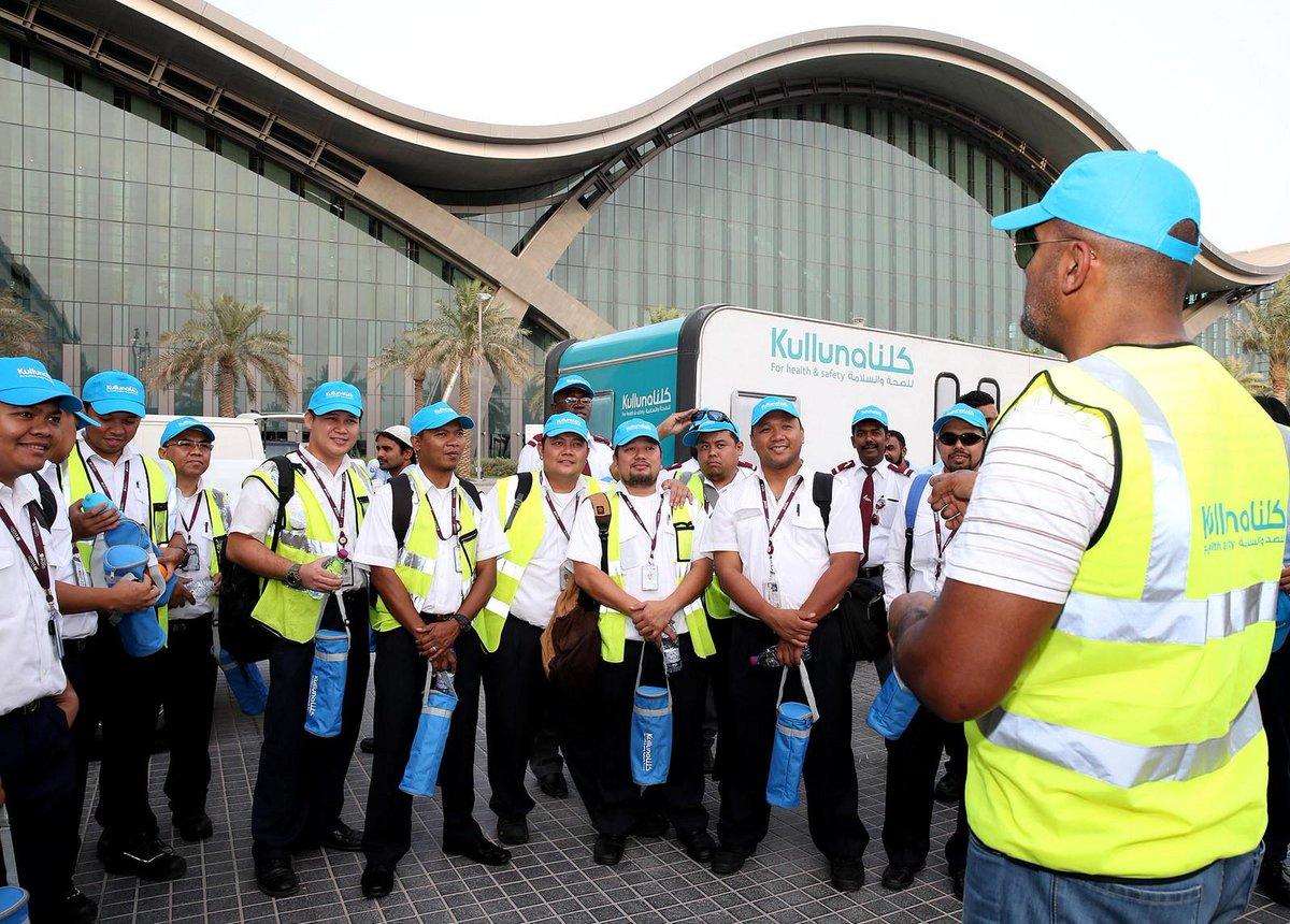 QatarAirways and @HMC_Qatar co-launch 'Beat The Heat' @HIAQatar. Read more at
