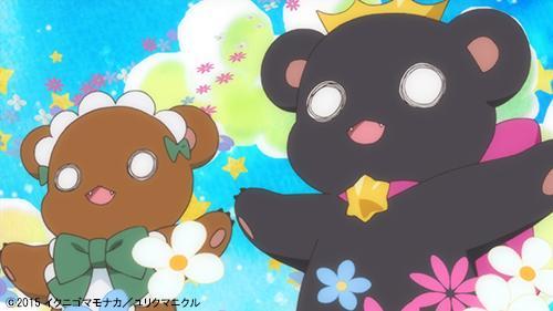 今日も天気が良かったですね。こんな天気の日には、空にクマが見えるかもしれません。 #yurikuma