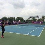 RT @WTA: And the #WTA Future Stars Masterclass begins with @Martina,  @MirzaSania, #KarmanThandi here in Hyderabad! http://t.co/xdp5u4xGMF