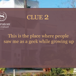 """RT @SheratonHyd: Clue2 As quoted by @MirzaSania  """"This is the place where people saw me as a geek while growing up"""" #SheratonHyderabad http…"""