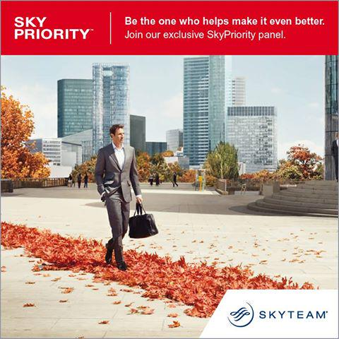 Thanks to you, SkyPriority will become even better. Join their panel now!