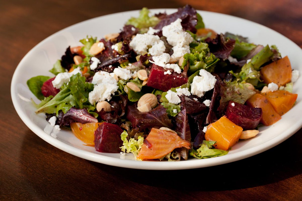 There's no BEETING around the bush. This salad is good! #BeetSalad #WildfireSalad #LunchTime http://t.co/QF0R5amwBT http://t.co/tVCApalHOl