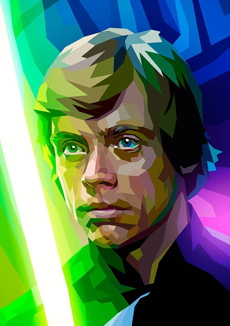 Attempting a #StarWars portrait every week until #TheForceAwakens  #30 Luke Skywalker @HamillHimself #LukeSkywalker http://t.co/M82wMRx6SQ