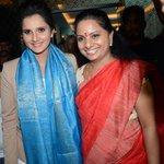 RT @telangana: Nizamabad MP @RaoKavitha felicitated Wimbledon Women's doubles winner @MirzaSania http://t.co/y55xiMwzSR