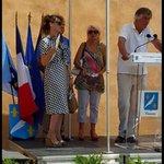 Une chaleur a crever mais belle exposition de Nils Udo sur lile St Marguerite #Cannes #MairiedeCannes http://t.co/JOF8yzOmGr
