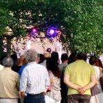 Aquí en el concierto de Ara Malikian #sarasatelive http://t.co/qnfjXy5vyL
