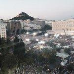 Pues el NO ha ganado en las calles de Atenas. Syntagma, esta tarde. #Grecia http://t.co/sISjWboGD1