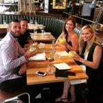 Our lovely guests enjoying their #Wimbledon cocktails! ???? Enjoy! #gordonramsaygroup #FridayFeeling http://t.co/2BepFe76YC