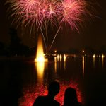 Fireworks over the Grand Basin on the first night of @FairSaintLouis. http://t.co/dkHx7UP8pB