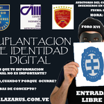FORO SUPLANTACIÓN DE IDENTIDAD DIGITAL* 29 de julio* CIV Caracas http://t.co/iQf0w45jY1 @Lazarusciil http://t.co/jPN6sILKz6 #entradaLibre