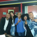 I had an amazing time hanging out with @bluembombo @K_ToOzle @GoitseKgaswane @Scarbond #Royals @TheRealYaronaFM http://t.co/TEnhQOXbF6