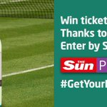 Win @Wimbledon Centre Court tickets! Enter now + RT if youre loving @serenawilliams v Watson! http://t.co/STptBM4cnz http://t.co/xpL0wbyOP0