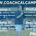 We've got an unbelievable lineup for our ProCamps at the end of the month. Six draft picks and four lottery picks! http://t.co/lrcPph8aw5