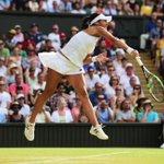 Wow! Heather Watson takes the 2nd set 6-4 against Serena Williams! ???????????? #Wimbledon #HeatherWatson http://t.co/CNvrzIdesZ