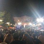 Syntagma ahora desde abajo. La fiesta continúa http://t.co/FYS0QaSxK1