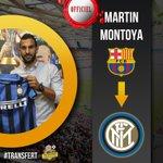 [#Transfert] OFFICIEL ! Martin Montoya est prêté à lInter Milan ! http://t.co/nK9EpTKXpv
