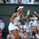 Five games in a row for Watson now. She leads Serena 2-0 in the third #Wimbledon http://t.co/dISnId2kgA