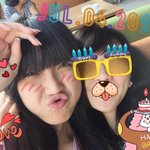 aaa #Happy19thFluffyJKT48! ttp lucu dan menggemaskan yaaa pandaxbabikuuu(?) hahaha, love youuuu @SinkaJ_JKT48 ???? http://t.co/I9zjVLz3yk