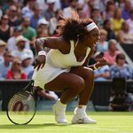 Serena Williams making a comeback! Catch the rest of the match on ESPN. http://t.co/On7BJtpBYJ